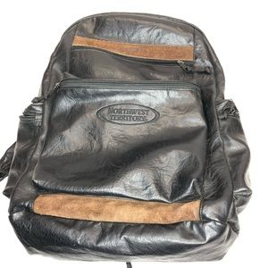 Northwest Territory Soft Leather w/Suede Backpack
